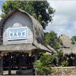 Sade tradisional village